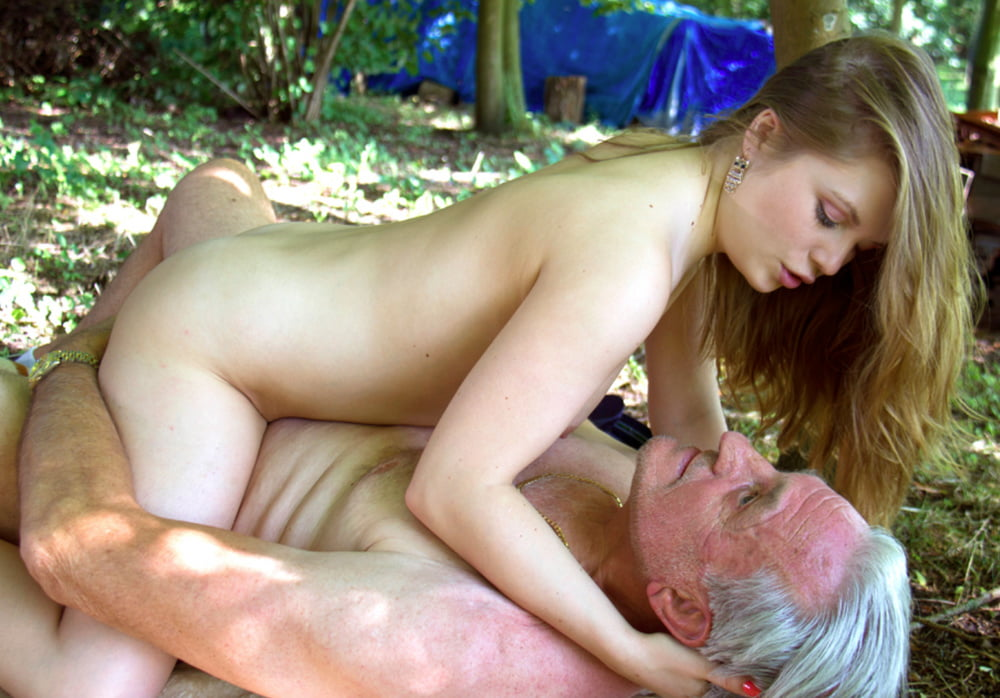 Young russian girl fuck by old man