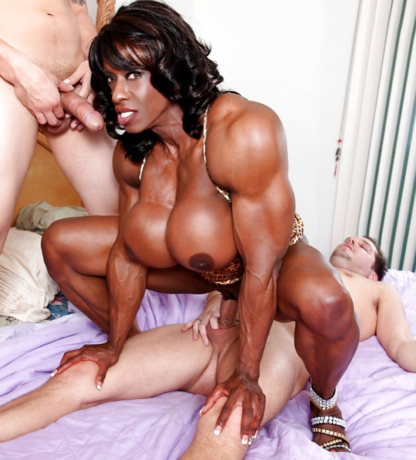 Muscle woman fucking 9