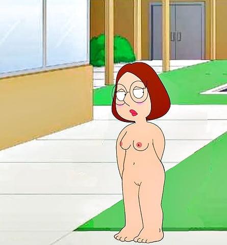 Naked family guy meg