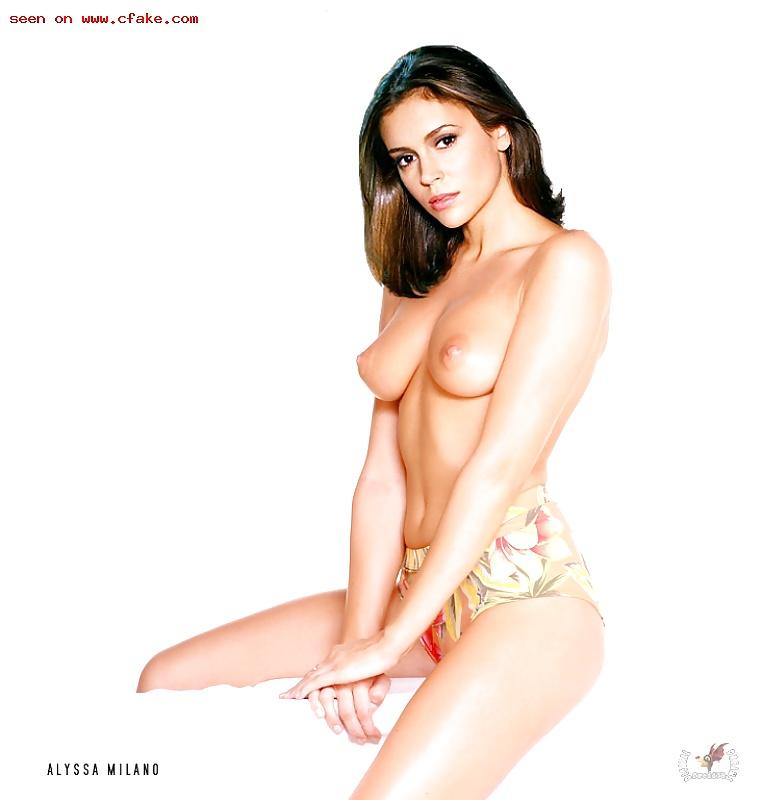 Playboys nude photo of alyssa milano — img 3
