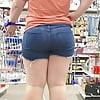 Beautiful chubby ass and legs