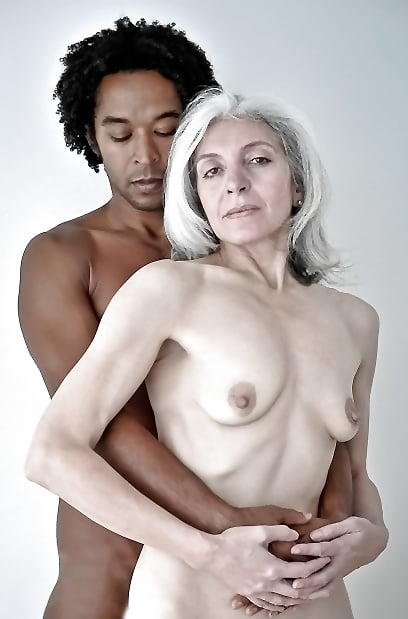 Gray haired women nude 1