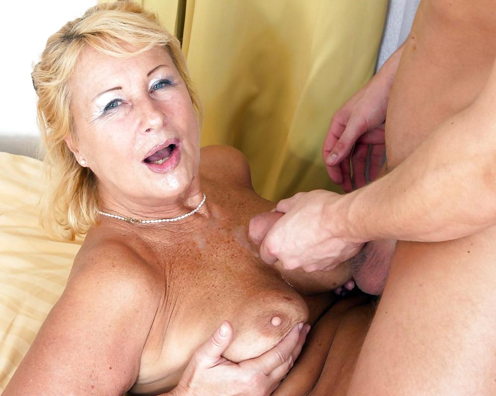 Granny cumshot porn pics