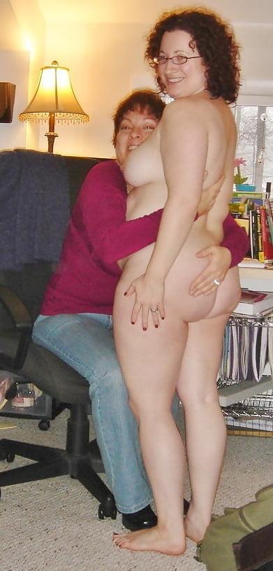 Nude lesbian breasts