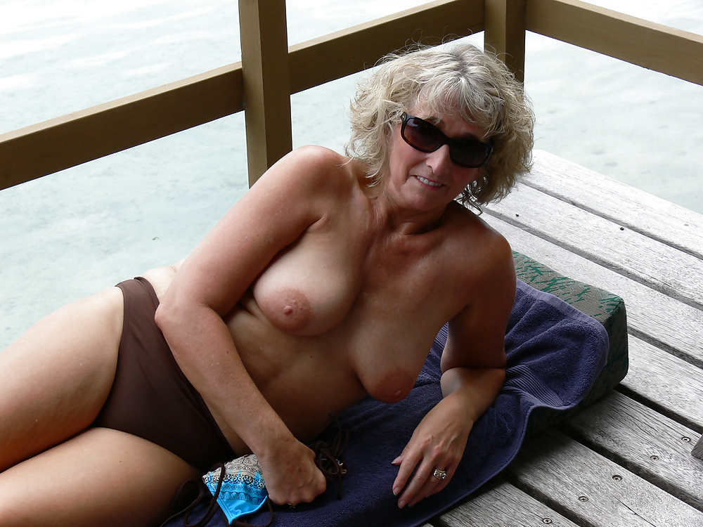 Topless Mature Women