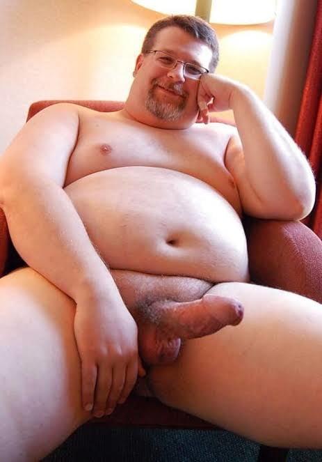Cartoon Fat Guy Cock