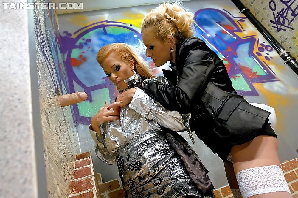 Strapon busty lesbian-2554