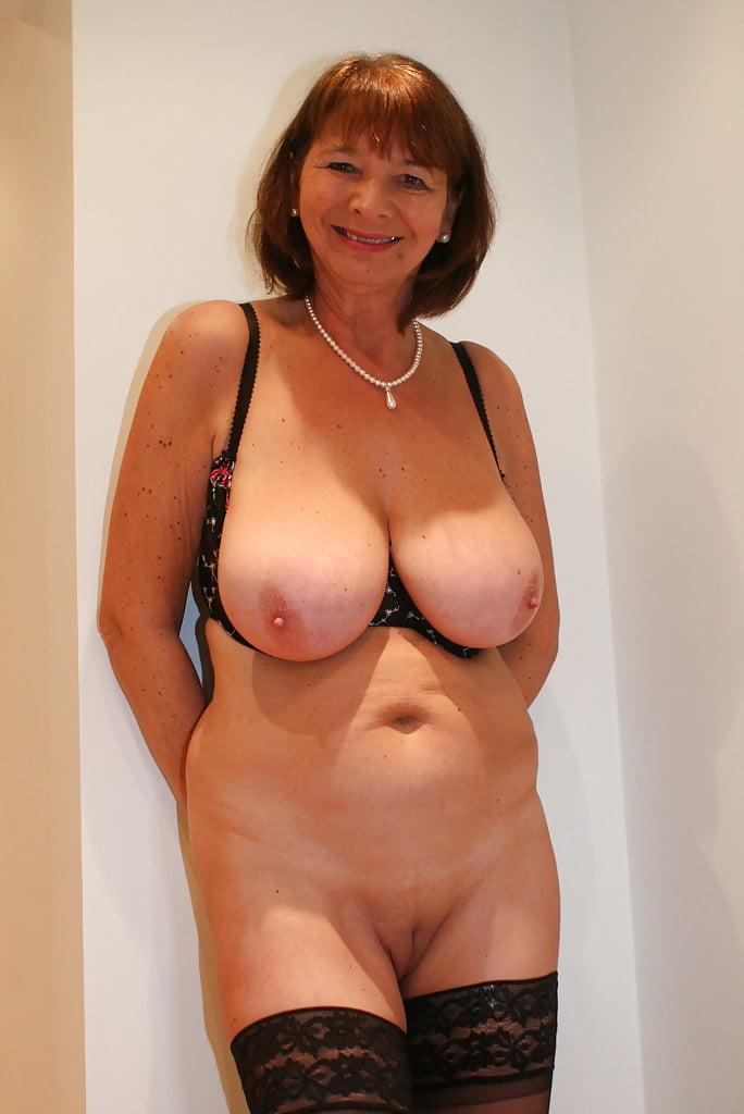 mature older woman Lingerie