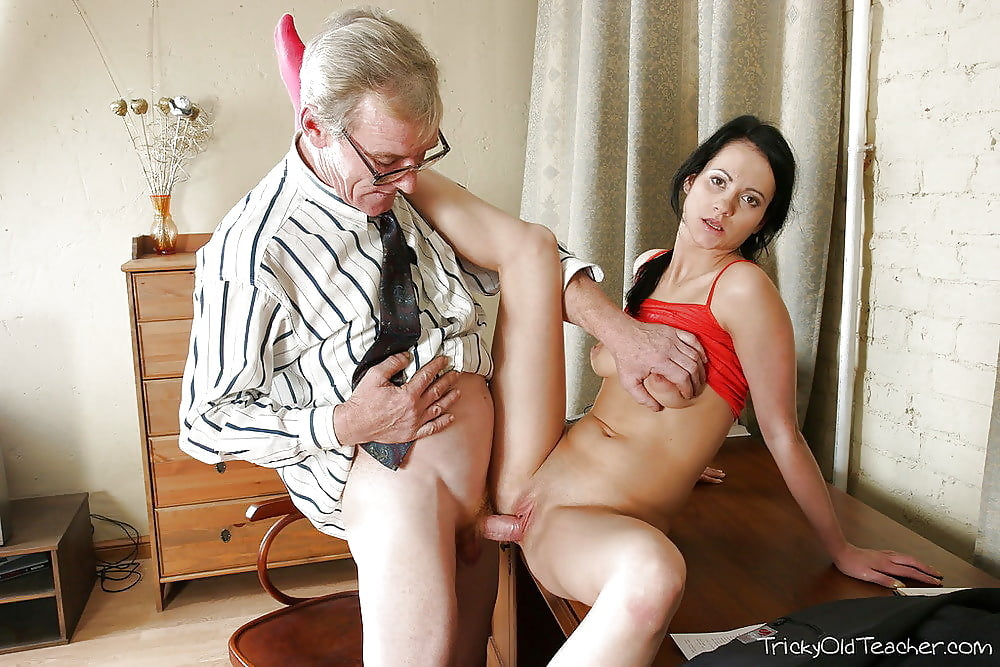 Porn old man teacher student silver naked