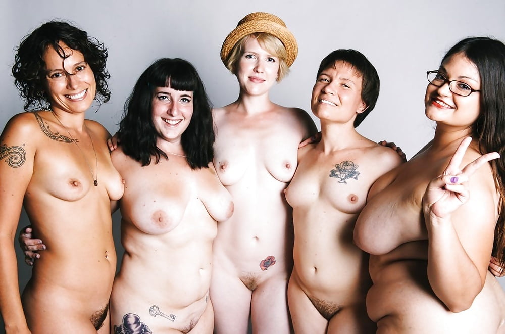 A Sea Of Nude Woman