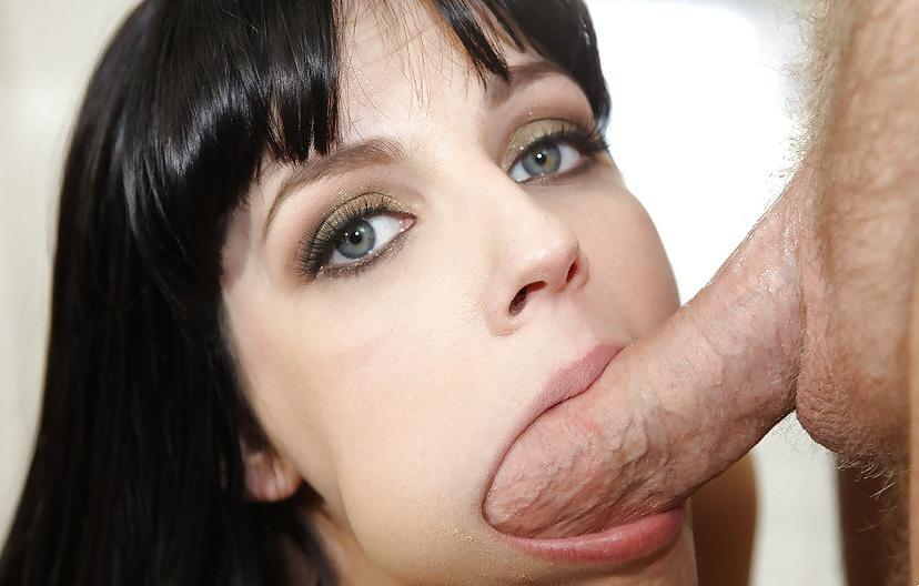 Nasty Bitch Giving Bathroom Head Porn Photo