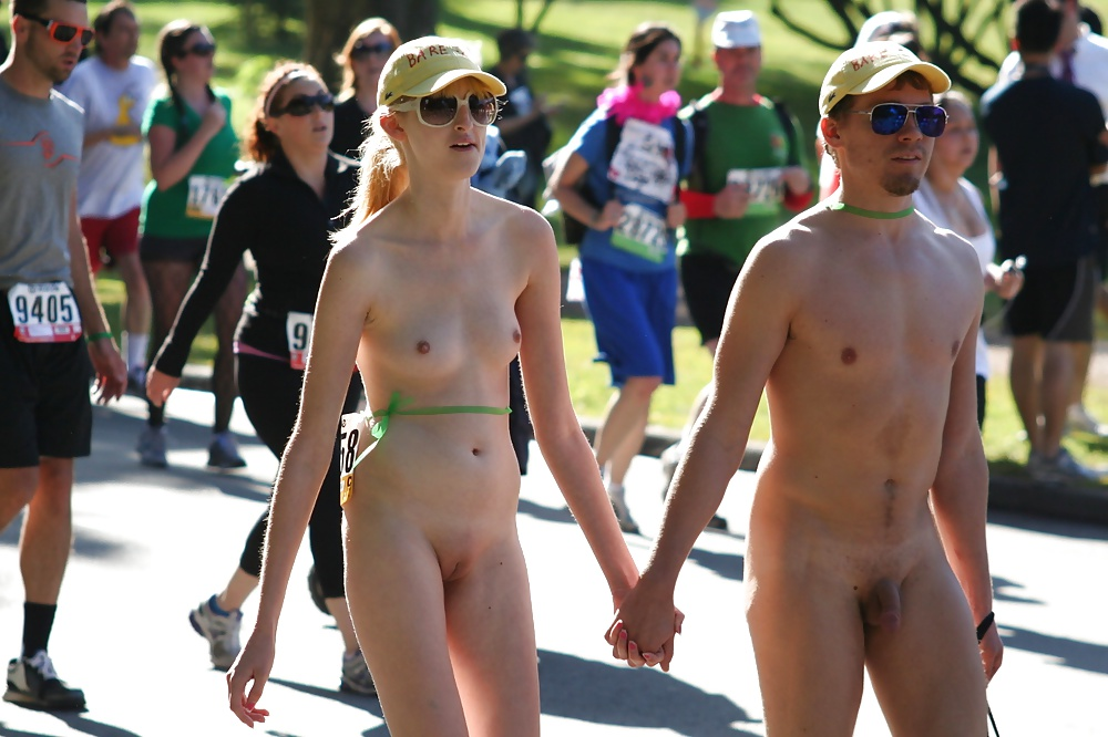 Bay to breakers nude girl naked