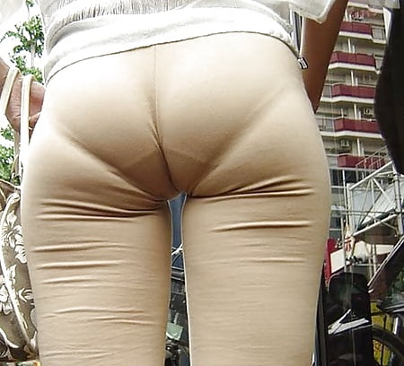 Visible panty lines female chubby