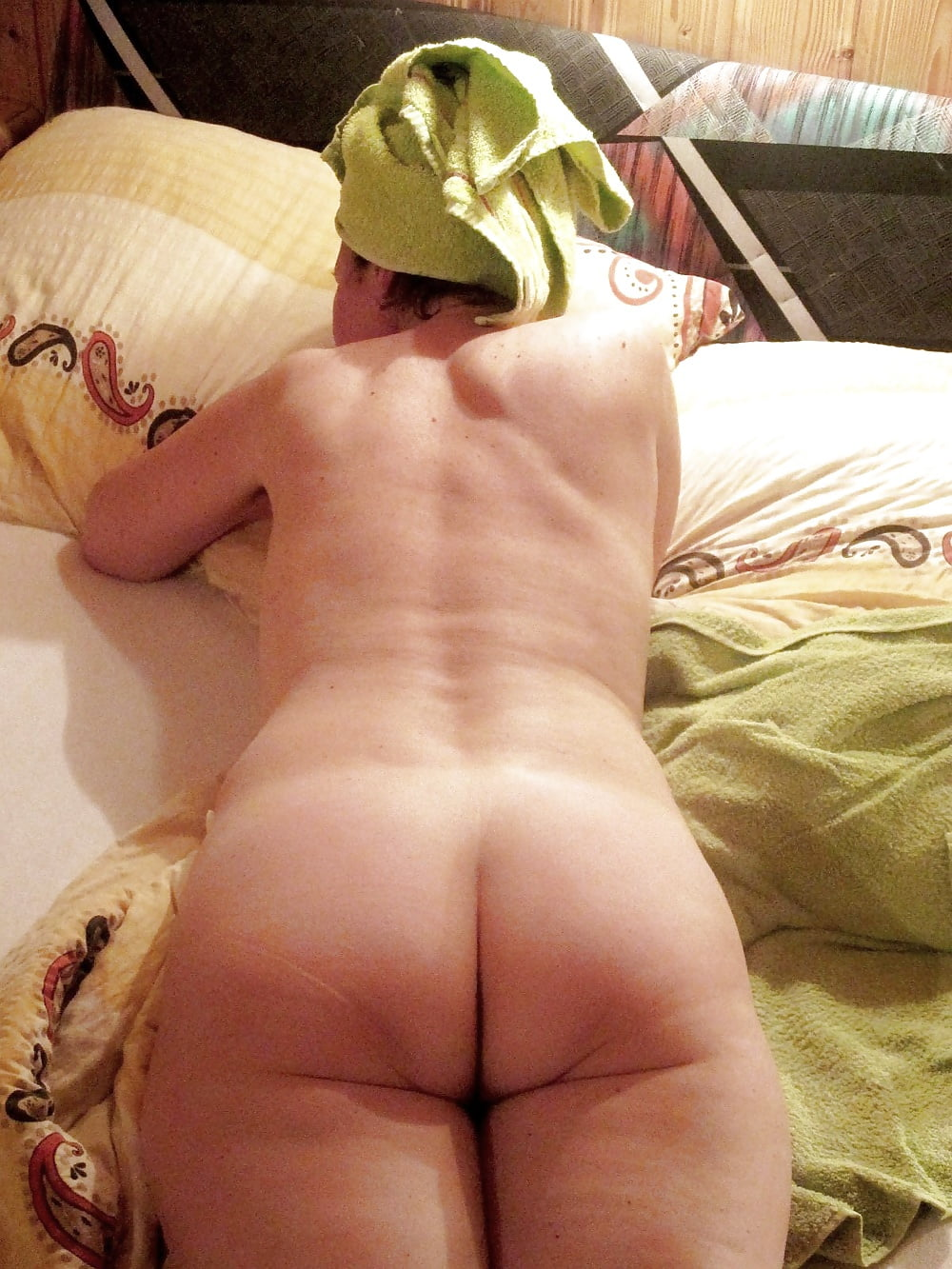 Flabby chubby ass