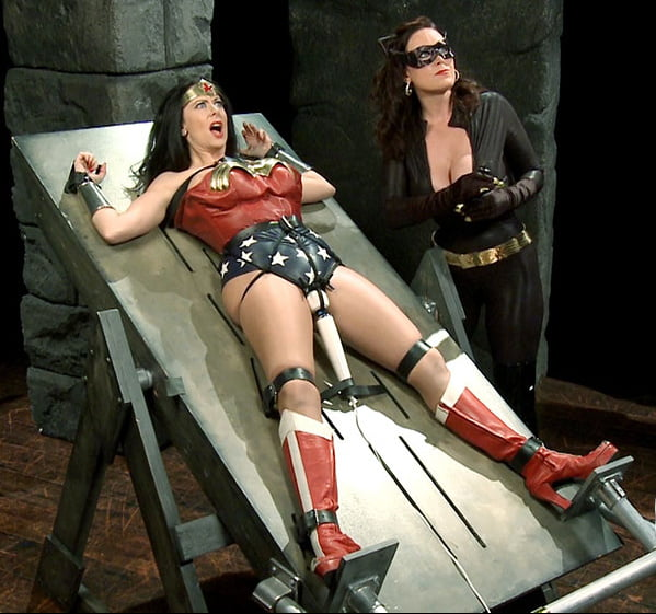 Bondage wonder woman fan fiction
