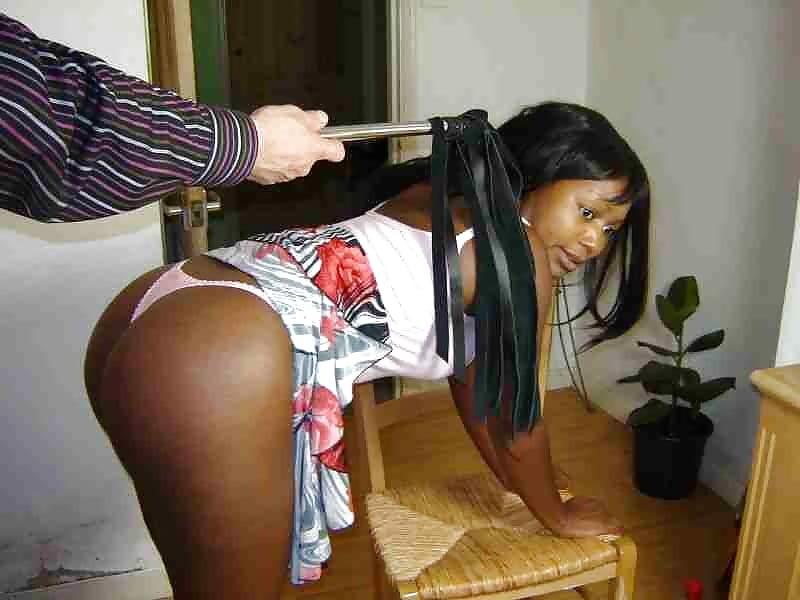 Naked black teens spanked