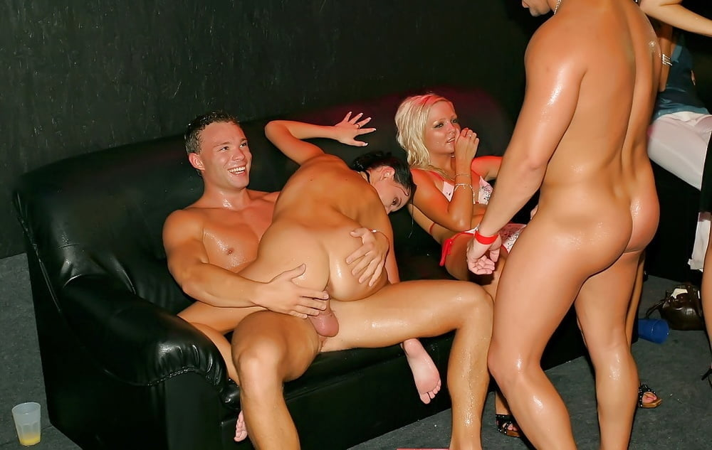 Drunk girls nude in party