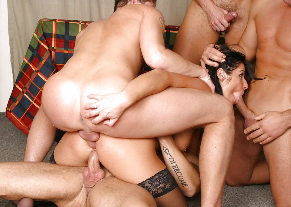 Porno movies gang bang, old man and maid sex