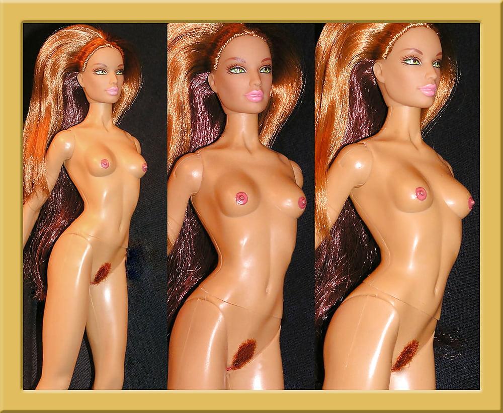 Барби с сосками и половыми, что у девушек под бикини