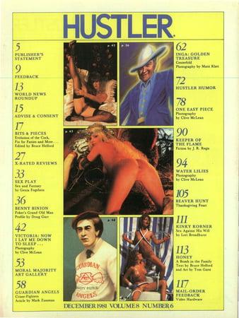 Hustler magazine nude pics