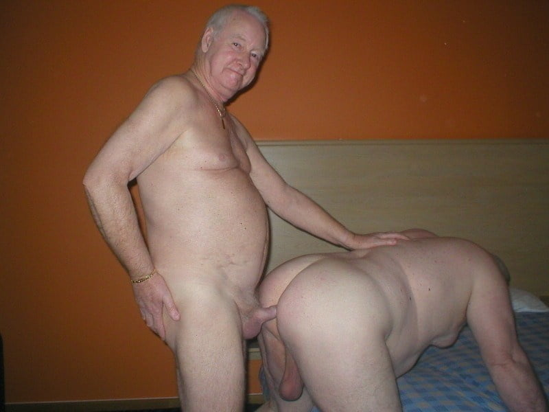 Grandpa Pisses After His Ass Gets Rimmed