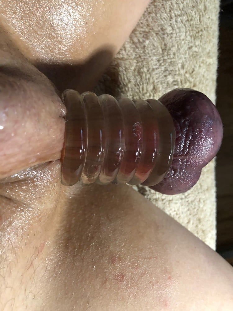 Pissing the sex ball stretching jizz deepthroat mom