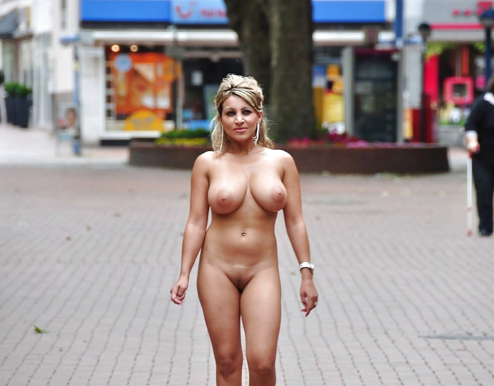 Naked in public picture