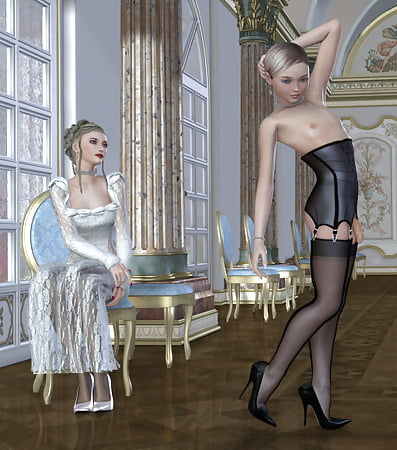 Illustrated story transvestite