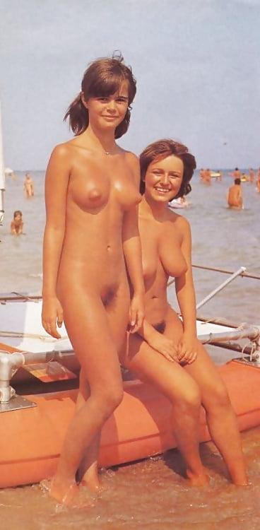 Nude beach clips
