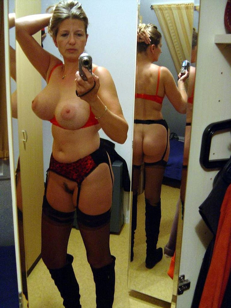 Glasses, massive tits tries on bras in dressing room