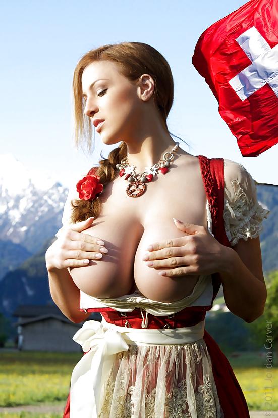 Busty nude swiss — photo 4