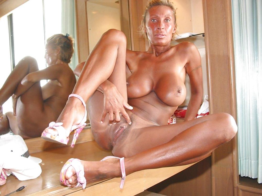 Mature Tanned Porn