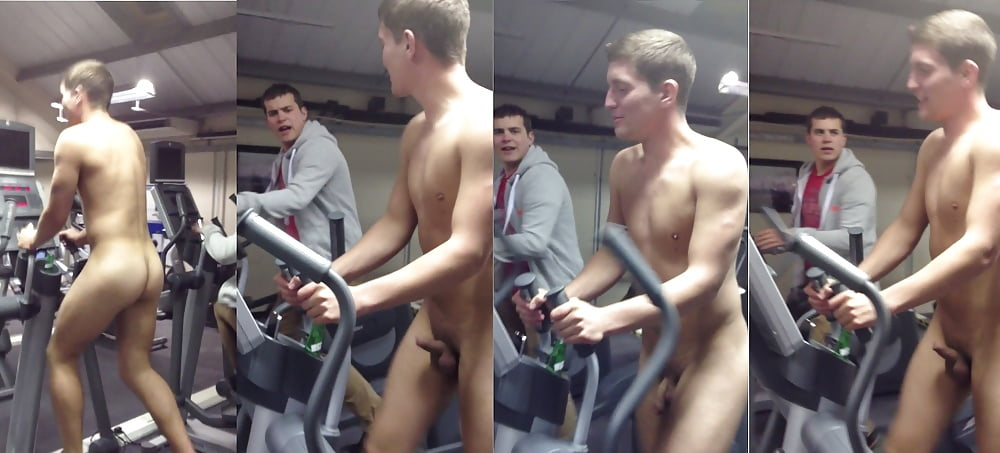 Naked Russian Gym Class