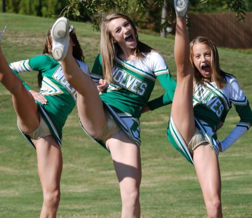 Cheerleader Cheerleaders Upskirt Crotch Ass Tits