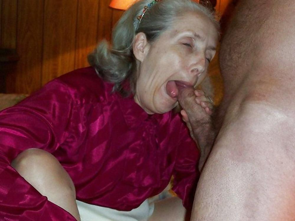 Old Granny Sucking Cock