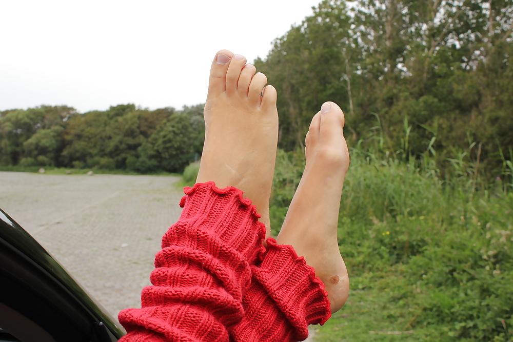 Verona Van De Leur Feet