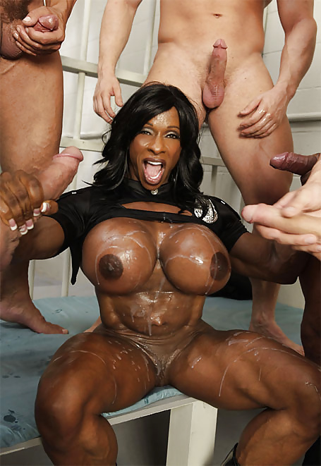 Black slut face fucking