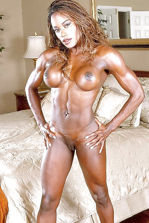 Black female bodybuilding porn