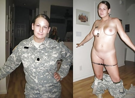 amateur female military nude