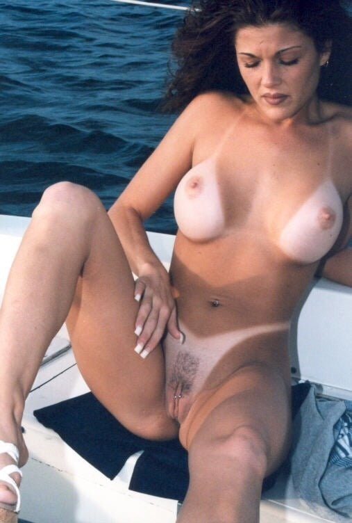 Nude mature girls with tanlines