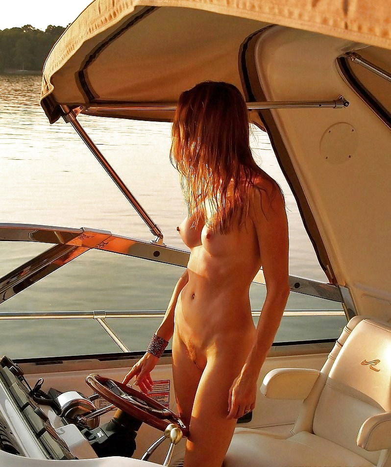 Nude sunbathing on boat, hentai sex vids