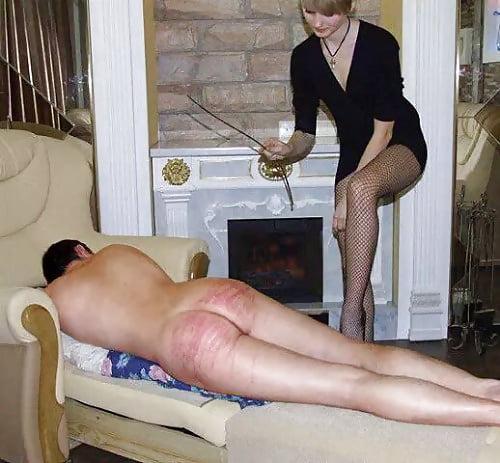 порка женщины мужем ремнем по голой попе картинки ощущал