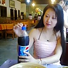 Beauty Chinese wife enjoys sex