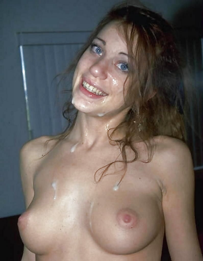 Девушка вся в сперме частные фото #13