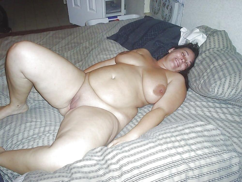 Sleeping bbw wife