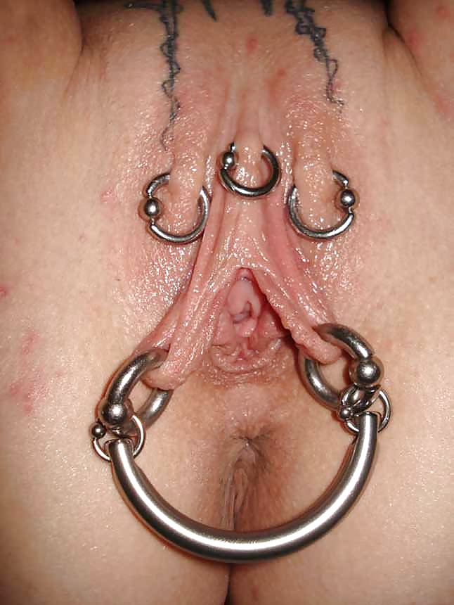 Clitoral piercing