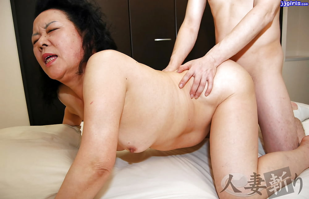 Young japan granny sex old