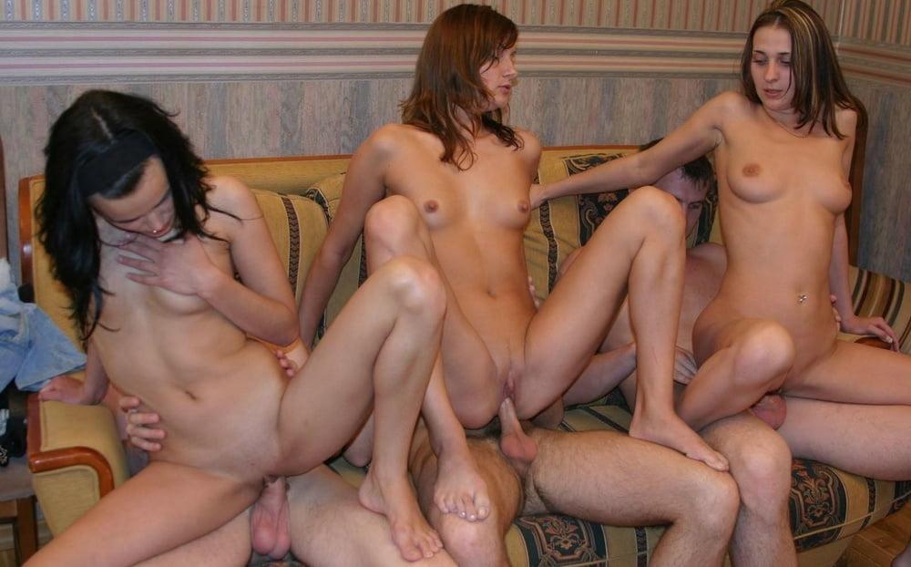 Молодежь и групповой секс фото
