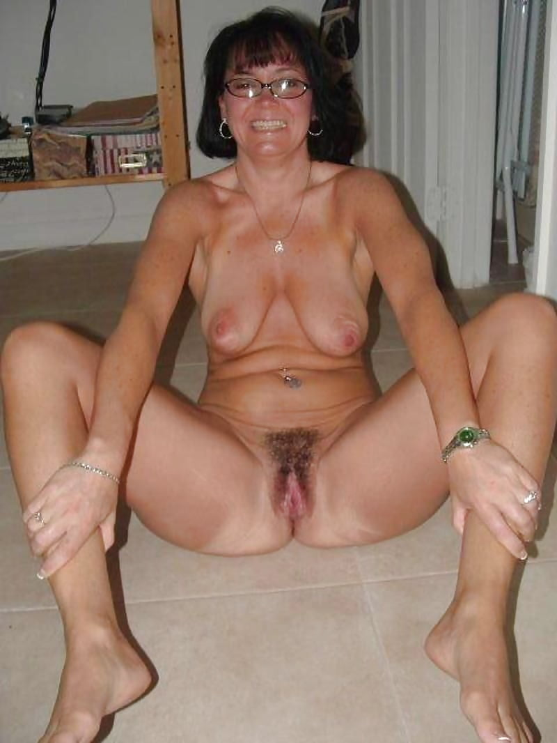 Nude naked old middle aged women