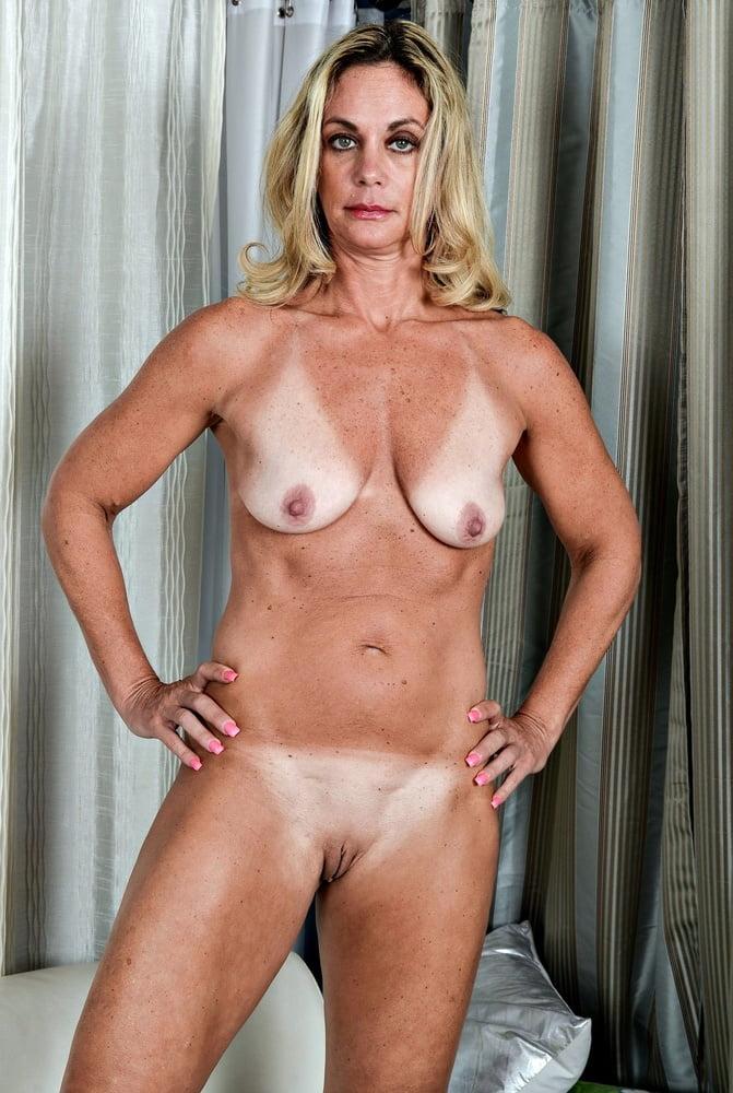 Amateur mature nude tan lines